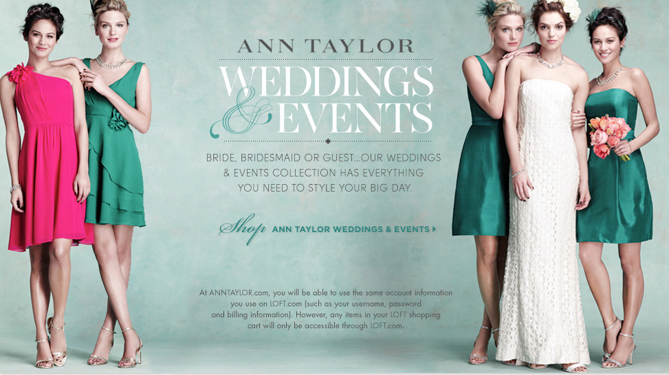 ANN TAYLOR WEDDINGS AND EVENTS