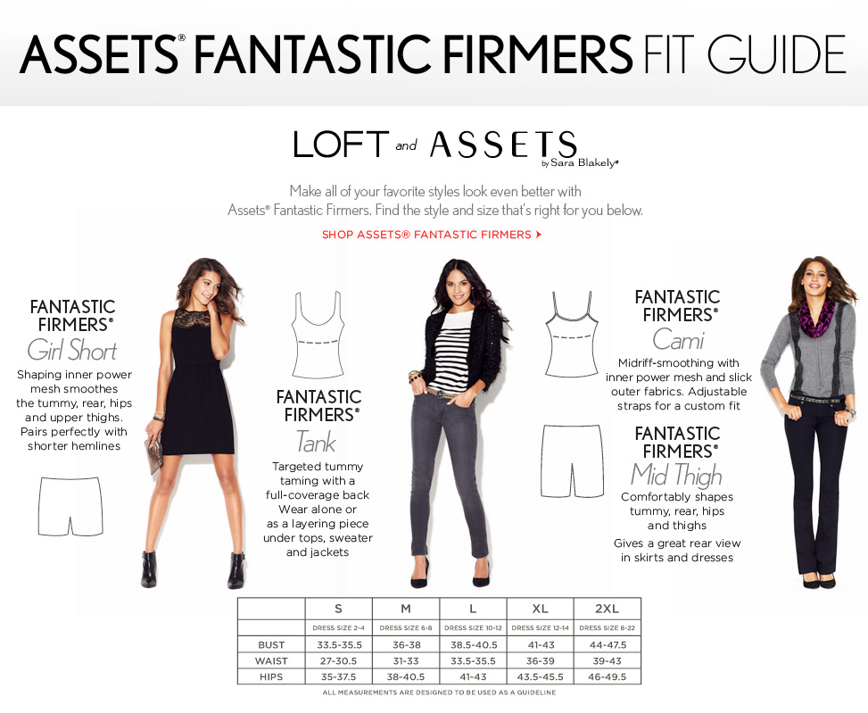 ASSETS FIT GUIDE