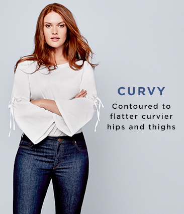 7d29e391bc Curvy Jeans: Skinny, Cropped & Colored | LOFT